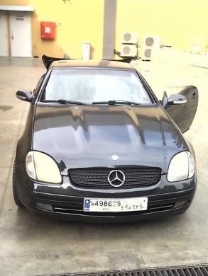 Mercedes-Benz in Kfar Chima - Mercedes slk 230 kompressor model 1997
