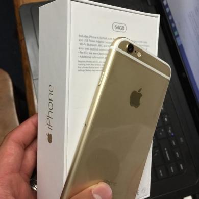 Phones, Mobile Phones & Telecoms in Ghazzeh - New Apple iPhone 6 64GB Gold