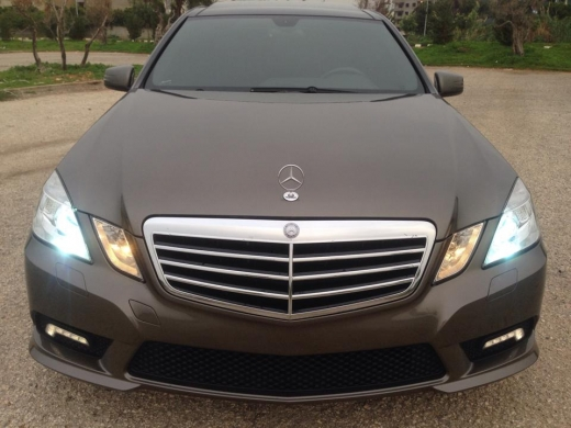 Mercedes-Benz in Tripoli - Mercedes Benz E350 Avantgrade 2010 AMG package