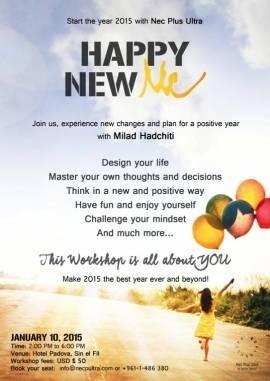 Classes in Mount Lebanon - 'Happy New Me' Workshop