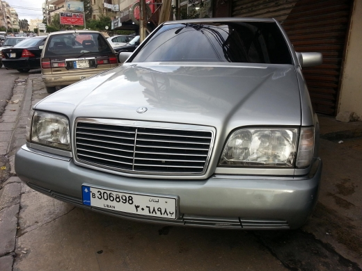Mercedes-Benz in Saida - Mercedes SE 500 1992 jdidi full option jnt 17