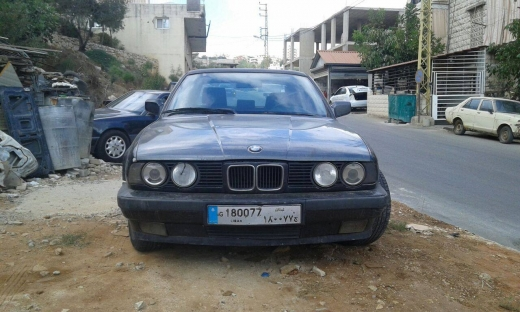 Cars in Beirut City - For sale BMW 535I model 1989 full option
