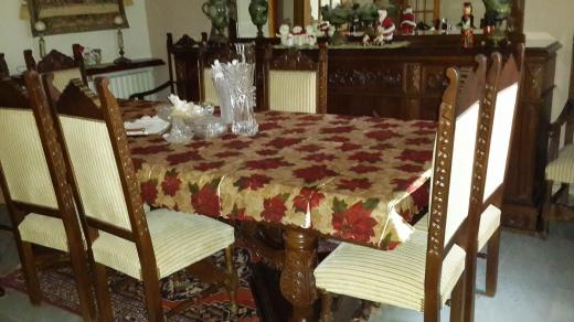 Home & Garden in Ain Alak - Salle a manger Rustique
