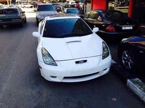 Cars in Tripoli - Toyota 2001 manual