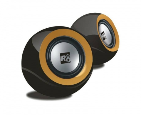 Audio & Stereo in Sour - R8 High Quality Multimedia Usb Stereo Speaker