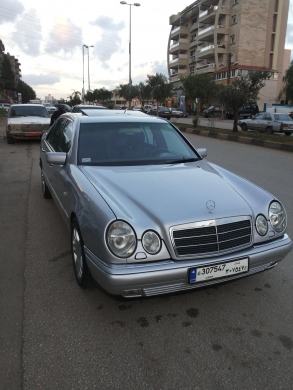 Cars in Tripoli - For sale Mercedes E320 model 97 AVANTGARDE
