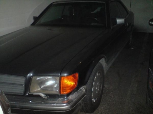 Cars in Ghadir - Mercedes 560 sec