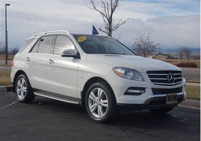 Cars in ain al-tineh - 2012 Mercedes-Benz M-Class 4MATIC 4dr ML350 BlueTEC SUV