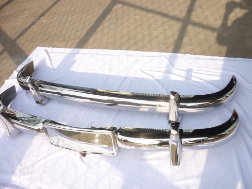 Car Parts & Accessories in Al Dahye - Mercedes Benz 220A stainless steel bumpers