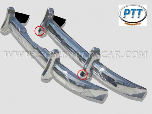 Car Parts & Accessories in Al Dahye - Mercedes Benz 180-190 Ponton bumper 1953-1959