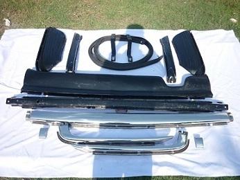 Car Parts & Accessories in Al Dahye - Mercedes Benz W107 bumpers