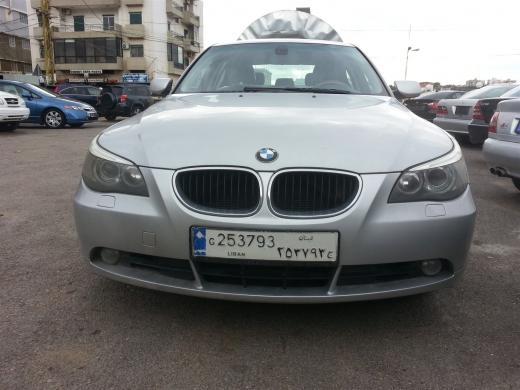 Cars in Dahr el-Ain - BMW 530 mod 2007