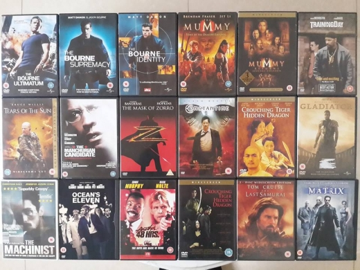 Music, Films, Books & Games in Beirut City - أفلام أجنبية أصلية - Original DVDs
