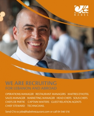 Offered Job in Dbayeh - Maitre D'Hotel