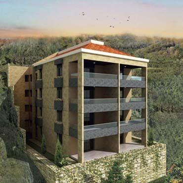 For Sale in Deychounieh - breathtaking area - Apartments for sale Dayshounieh- 190m2- @1500$/m2