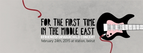 Events, Gigs & Nightlife in Beirut - Friends for War Child - The Beirut Edition