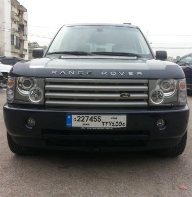 Cars in Dahr el-Ain - ranger rover mod 2005