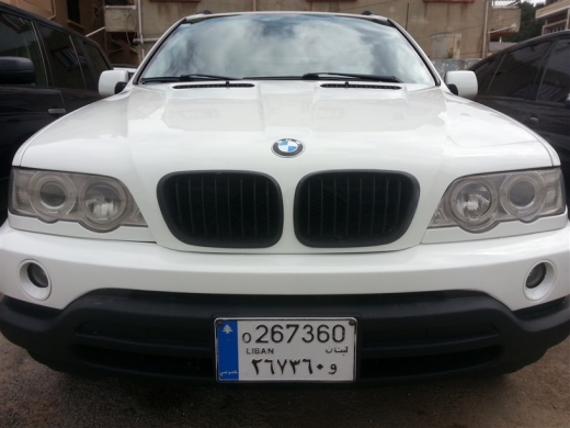 Cars in Dahr el-Ain - bmw x5 2001