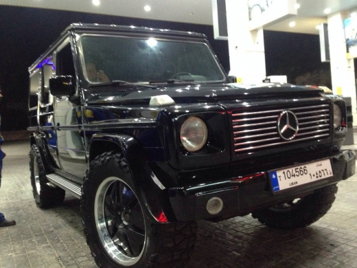 Cars in Kousba - mercedes g class model 1982 look 2005
