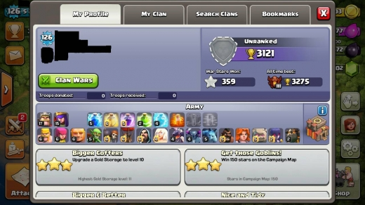 Music, Films, Books & Games in Tripoli - Clash of Clans TH10 Champions league 4000 Gems!