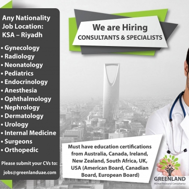 Offered Job in Accaoui - Hiring Doctors- KSA