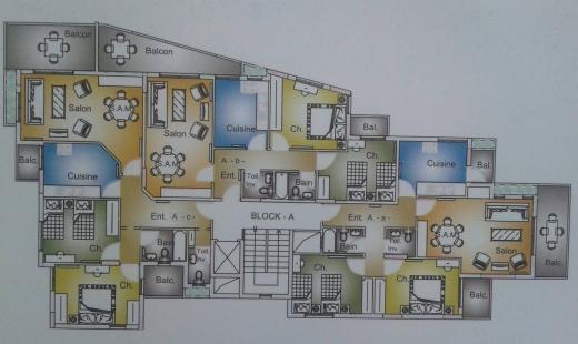 For Sale in Deychounieh - Daychounieh 115m2 apartment in Daychounieh for sale + 66m2 terrace