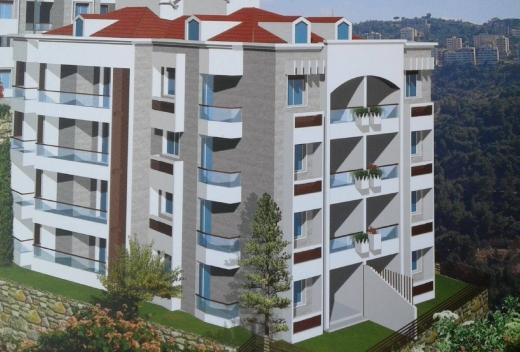 For Sale in Deychounieh - Daychounieh 157m2 apartment in Daychounieh for sale + 52m2 garden.