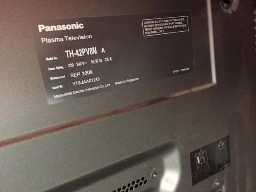 tv PANASONIC PLASMA 42 INCH FULL HD AS NEW VERY VERY CLEAN NOT ONE SCRATCH  | Khalde, Beirut
