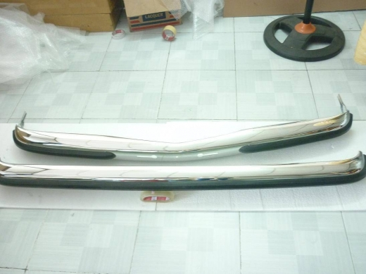 Car Parts & Accessories in Al Dahye - Mercedes Benz W123 stainless steel bumpers