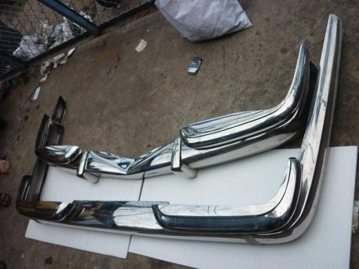 Car Parts & Accessories in Al Dahye - Mercedes Benz W100 stainless steel bumpers