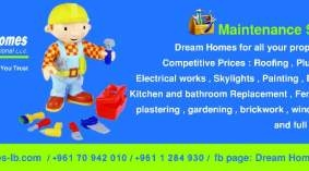 Property Maintenance Services in Beirut - خدمات المنازل و المصانع في لبنان maintenance services