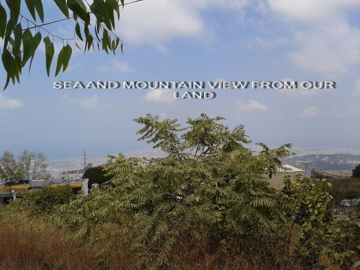 Land, Farms & Estates in Souk el-Gharb - Land having a sea view for Sale in Souk El Ghareb, $ 671500