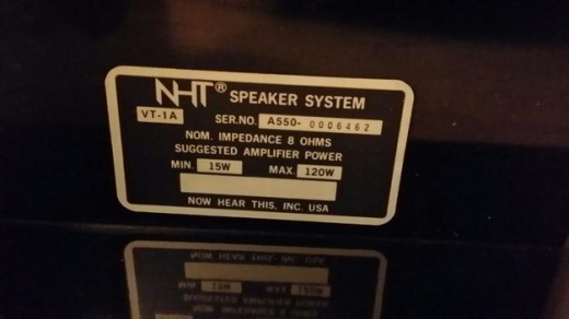 Record Players/Turntables in Khalde - 2brand new AMERICAN MADE PRO SPEAKERS NEVER USED BRAND :NHT MADE IN USA 102C TALL EACH