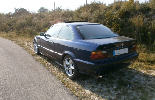 For Sale Bmw E36 325i In Great Condition Dark Blue New Engine بيروت