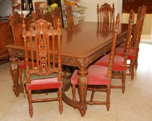 Oriental Neo Classic Style Dining Room Furniture