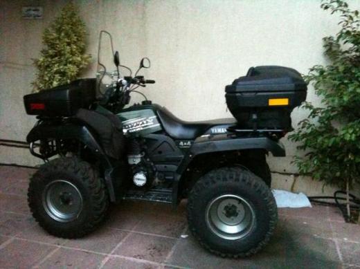 Motorbikes & Scooters in Achrafieh - بيع Atv yamaha grizzly 600cc