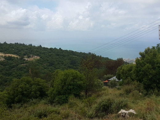 Land, Farms & Estates in Kfour - Ref (PE1.L.285), 980 m2 Land for sale in Kfour / Keserwan (non-blocked sea view)