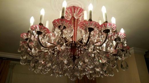 Home & Garden in Al Maarad - ثريات كريستال تشيكي للبيع عدد 3