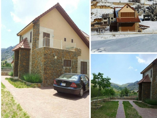 For Sale in Laqlouq - Ref (PE1.V.28), 165 m2 Triplex Chalet having a 300 m2 garden for sale in Laklouk