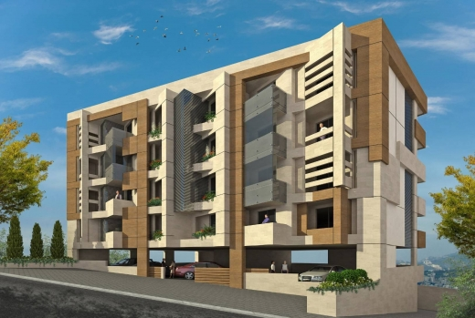 For Sale in Elissar - Ref (PE1.A.528), 152 m2 luxurious apartment having a 40 m2 garden and 45 internal storage room for sale in Elysar