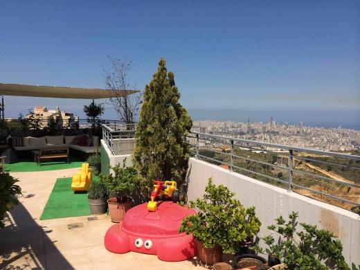 For Sale in Mansourieh - Ref (SE26.A.301), Mansourieh, 280 m2 duplex + 120 m2 terrace