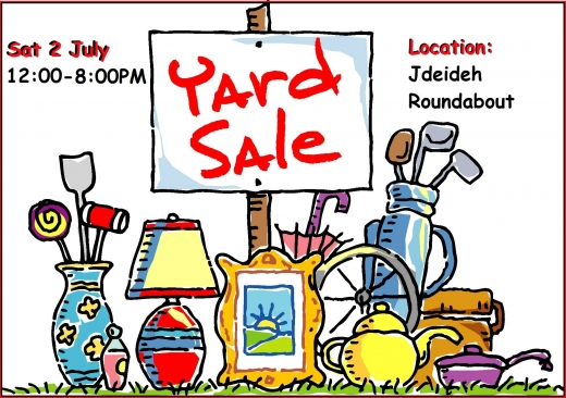 Events, Gigs & Nightlife in Jdeideh - The Great Yard Sale