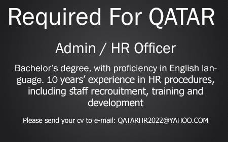 Offered Job in Accaoui - Admin/ HR Officer