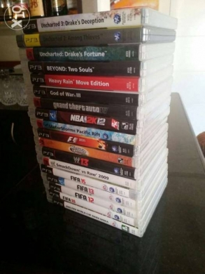 Video Games & Consoles in Antelias - Ps3 + 17 games for sale