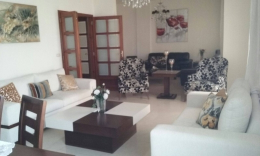 To Rent in Zalka - Ref (GAF9.A.88), 180 m2 furnished apartment for rent in Awkar / Aoukar