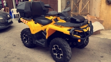 Motorbikes & Scooters in North - atv bombardier can am outlander 1000cc