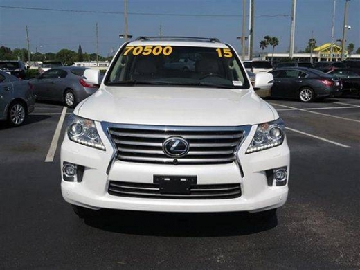 Cars in Barbir - Perfectly Used Lexus LX 570 Suv for sale