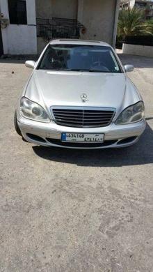 Cars in Tripoli - Mercedes S-Class