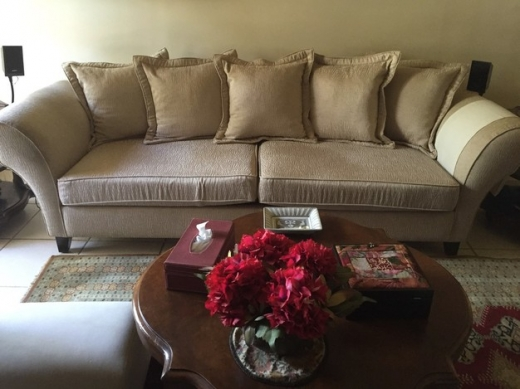 one big sofa with slipcover for sale