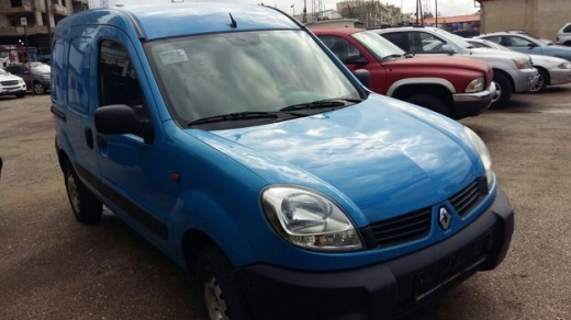 renault kangoo, 4x4, model 2007, 4 cylinders, a/c, manual